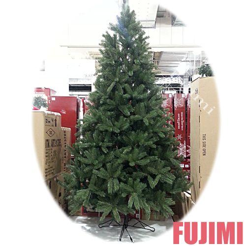 送料無料 ! カークランドシグネチャー 7.5フィートクリスマスツリー(※オーナメント無し) 33238円【KS 7.5 EASY SHAPE TREE】【xmas】