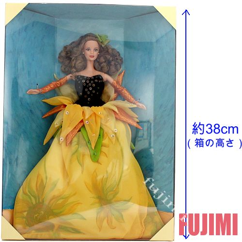 Barbie INSPIRED BY THE PAINTINGS OF VINCENT VAN GOGH 15100円【バービー,ビンセント ヴァン ゴッホ,ひまわり,人形 有名人 アート 画家 sunflower 】#19366【コンビニ受取対応商品】