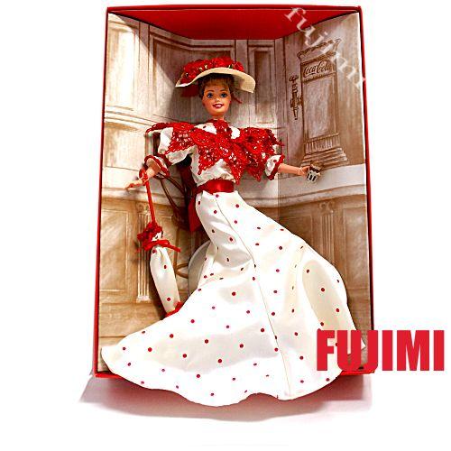 バービー クラシックシリーズ コカ・コーラ 10267円【Barbie,人形,コカコーラ】#15762【コンビニ受取対応商品】