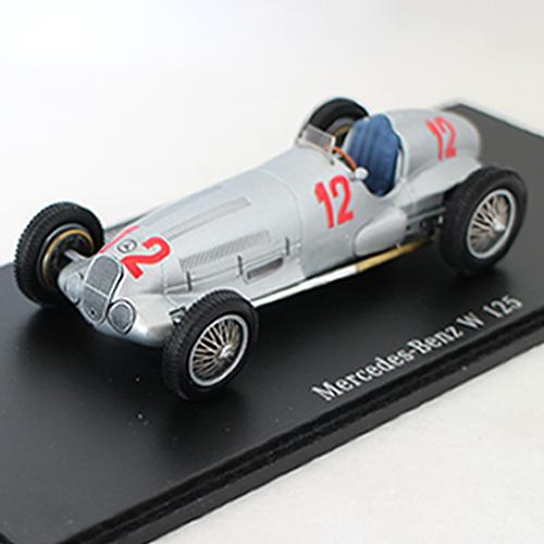 spark Mercedes-Benz W 125 1/43 Classic Collection 12963円【メルセデス ベンツ 博物館 ミュージアム ミニカー レーシングカー GP ダイキャストカー】【コンビニ受取対応商品】
