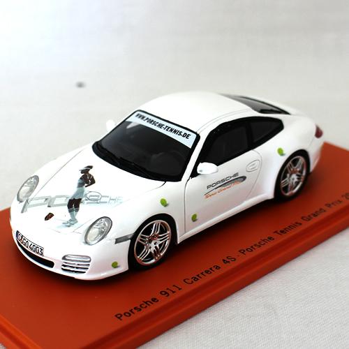 Porsche 911 Carrera 4s 2011 Porsche tennis GP Limited 1/43 22223円【ポルシェ カレラ テニス セレナ ウィリアムス ミニカー】【コンビニ受取対応商品】