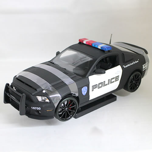 2012 Ford Shelby GT500 Super Snake 1/18 Shelby Collectible 10185円 【 フォード マスタング シェルビー スーパー スネーク ミニカー ポリス ダイキャストカー パトカー 警察 アメリカンポリス マッスルカー 】【コンビニ受取対応商品】