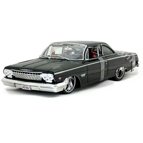 1962 Chevrolet Bel Air PRO RODZ bk Maisto 1/18 9167円【ミニカー,シボレー,ベルエア,黒,アメ車,クラシックカー】【コンビニ受取対応商品】