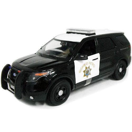 2015 Ford POLICE Utility CHP MOTOR MAX 1/18 9167円 【 カリフォルニア ハイウェイ パトロール アメリカン ポリス パトカー ミニカー 警察 フォード ユーティリティ モーターマックス ダイキャストカー 】【コンビニ受取対応商品】