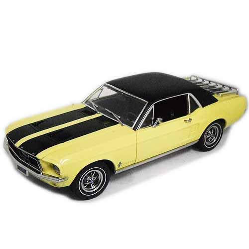 1967 Ford Mustang Ski Country Special Yellow 1/18 GreenLight 12963円 【フォード マスタング スキー カントリー スペシャル 黄色 イエロー グリーンライト ミニカー ダイキャストカー】【160107】【コンビニ受取対応商品】