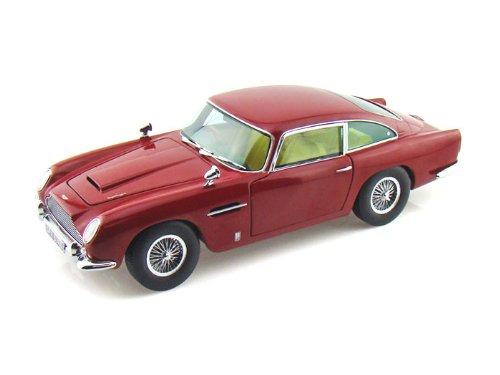 1963 ASTON MARTIN DB5 RED 1/18 Sun Star 11112円 【 アストンマーチン 赤 レッド GB ボンドカー ミニカー 英国車 クラシックカー 】【コンビニ受取対応商品】
