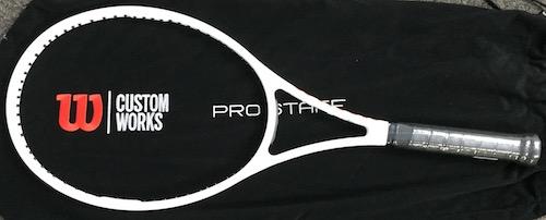 テニス ラケット ウイルソン プロスタッフ 97 CV 白 73148円【 Wilson PRO STAFF 97 CV CUSTOM WORKS WHITE 】