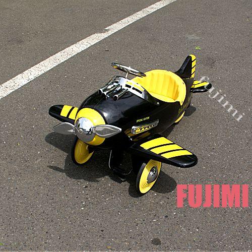 ペダルカー・足こぎ飛行機(子供用乗用玩具) 120000円 【乗り物,飛行機,足こぎ,おもちゃ】