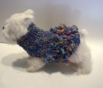 ルル ベビーブル - Lulu in baby blue セーター SS・S 【Doggy Train】 33000円