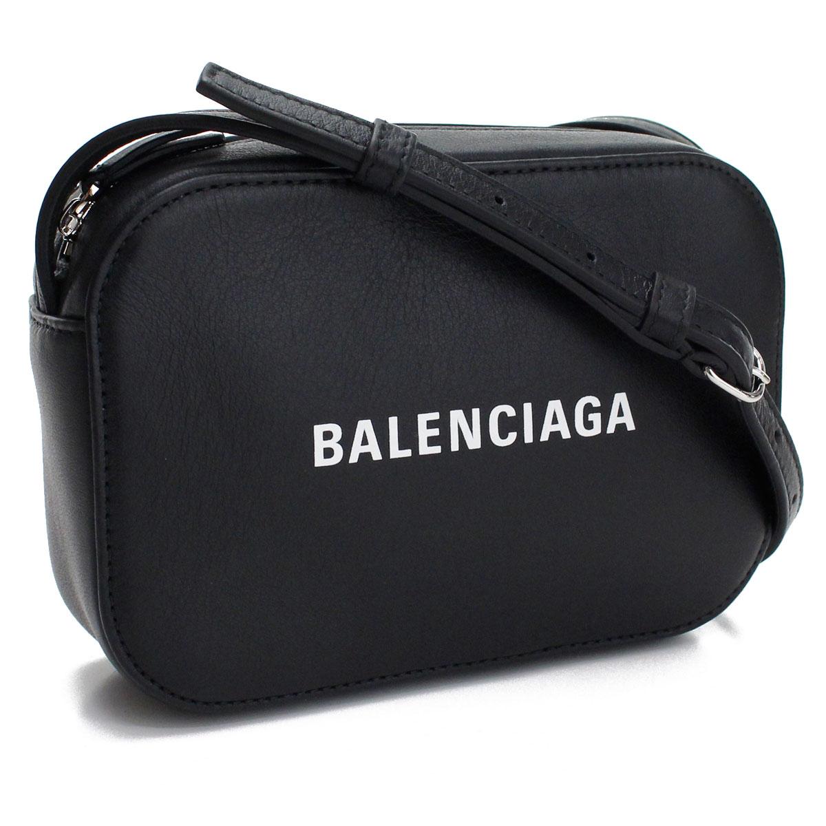 バレンシアガ BALENCIAGA EVERYDAY エブリデイ CAMERA XS 斜め掛け ショルダーバッグ カメラバッグ 552372 DLQ4N 1000 ブラック レディース