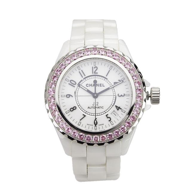 新品 シャネル CHANEL オートマチック腕時計 H1182 J12 ホワイト系 メンズ 自動巻き【キャッシュレス 5% 還元】