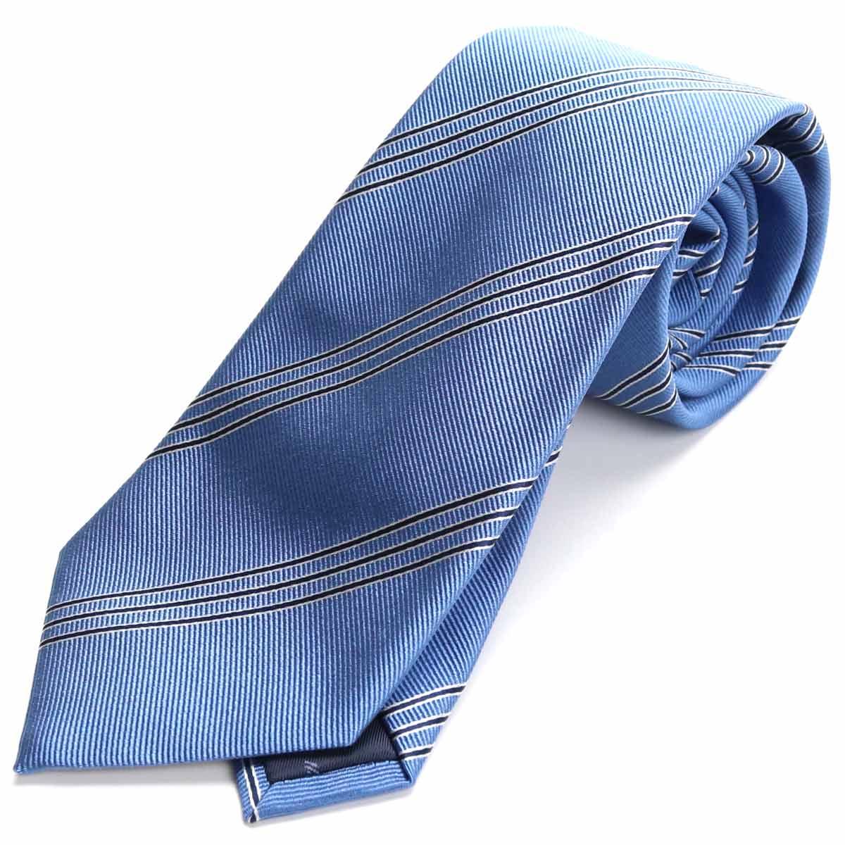 ※ 送料無料 商品追加値下げ在庫復活 ラッピング無料 エンポリオ アルマーニ EMPORIO ARMANI ネクタイ 340182 gsm-5 LIGTH 0P310 00631 お歳暮 ブルー系 メンズ men's BLUE