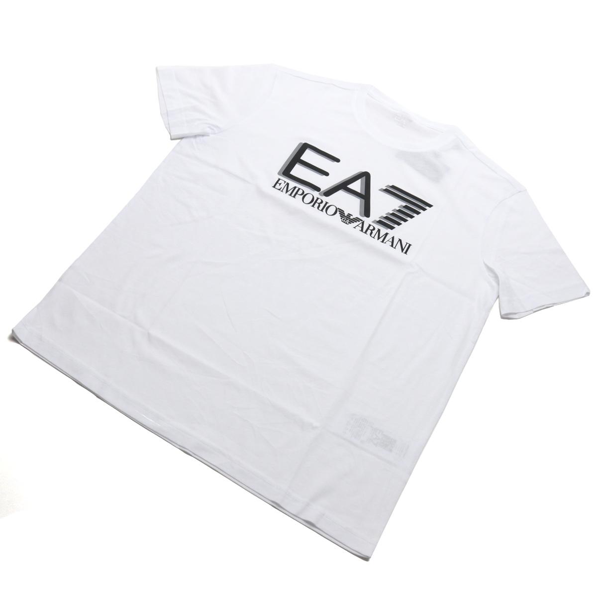 送料無料 お気にいる ※ ラッピング無料 #XLサイズ イーエーセブン EA7 メンズ-Tシャツ 3HPT81 big-01 1100 WHITE メンズ sale-8 ts-01 ホワイト系 PJM9Z