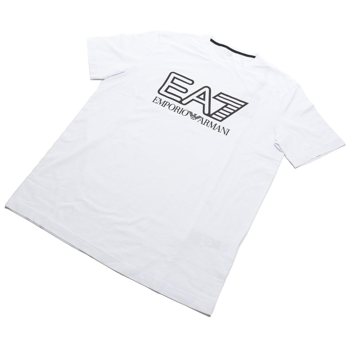 ※ 送料無料 2020 新作 ラッピング無料 34%OFF ブランド公式サイト掲載価格12 100円 #XXLサイズ イーエーセブン EA7 メンズ-Tシャツ big-01 メンズ ホワイト系 sale-8 ts-01 PJ03Z WHITE 6HPT62 激安 1100