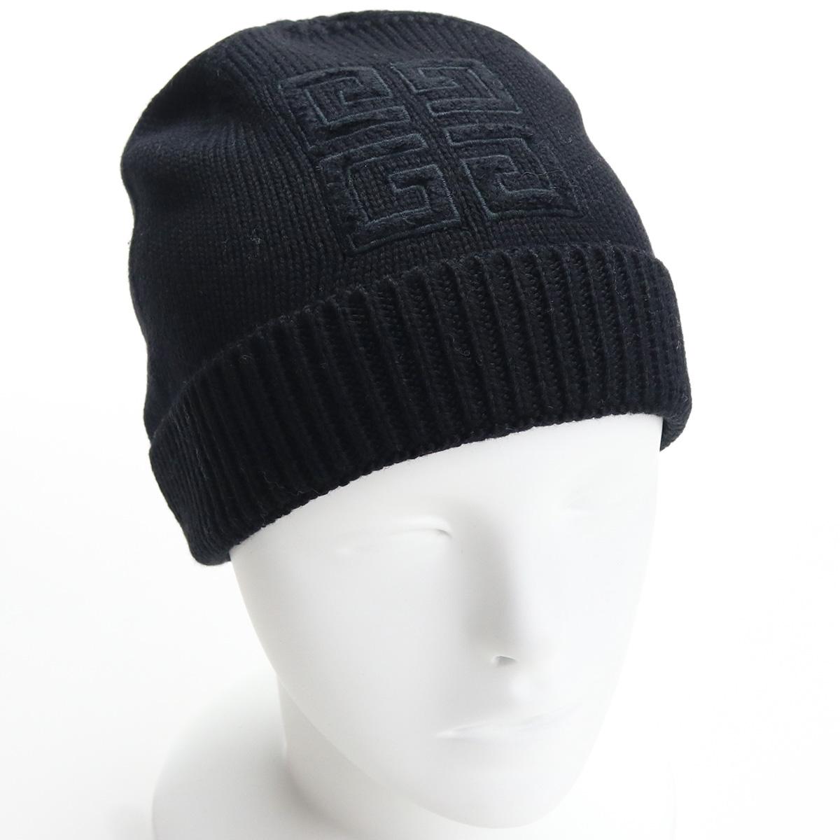 ※ 送料無料 ラッピング無料 2021春夏新作 ジバンシー GIVENCHY レディース- ニットキャップ 帽子類 レディース BGZ011 001 海外並行輸入正規品 G02C ブラック お値打ち価格で sale-8 bos-05 2021SS warm-02