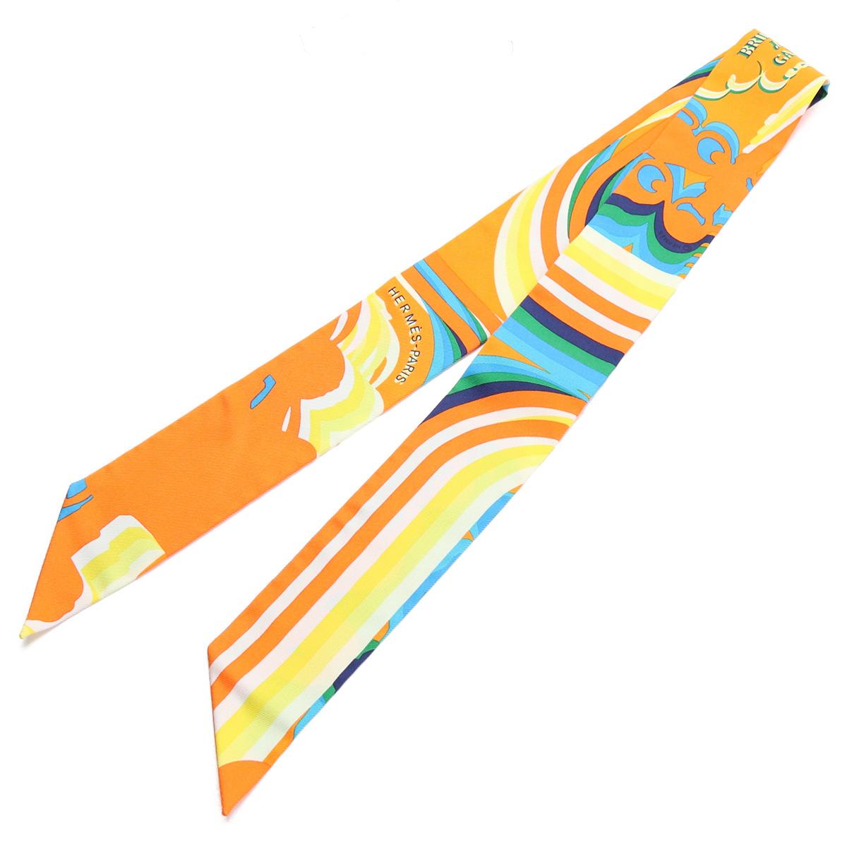 ※ 送料無料 ラッピング無料 エルメス HERMES レディース-スカーフ TWILLY H063415S 06 BRIDES DE SHAD TR gsw-5 ORANGE accessory-01 TURQ 爆売りセール開催中 <セール&特集> GALA bos-46 マルチカラー JAUNE sale-8
