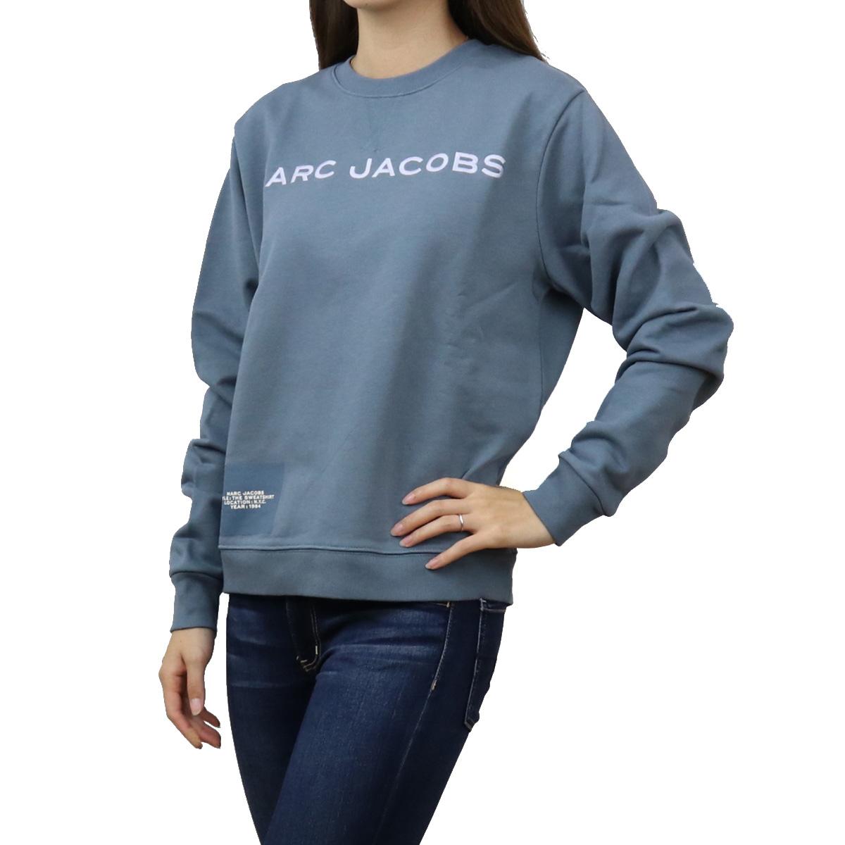 ※ 送料無料 ラッピング無料 20%OFF ブランド公式サイト掲載価格28 600円 日本製 マーク ジェイコブス MARC JACOBS トップス BLUE SHADOW レディース-スウェット ブルー系 apparel-01 ディスカウント C604C05PF21 ブランド 481