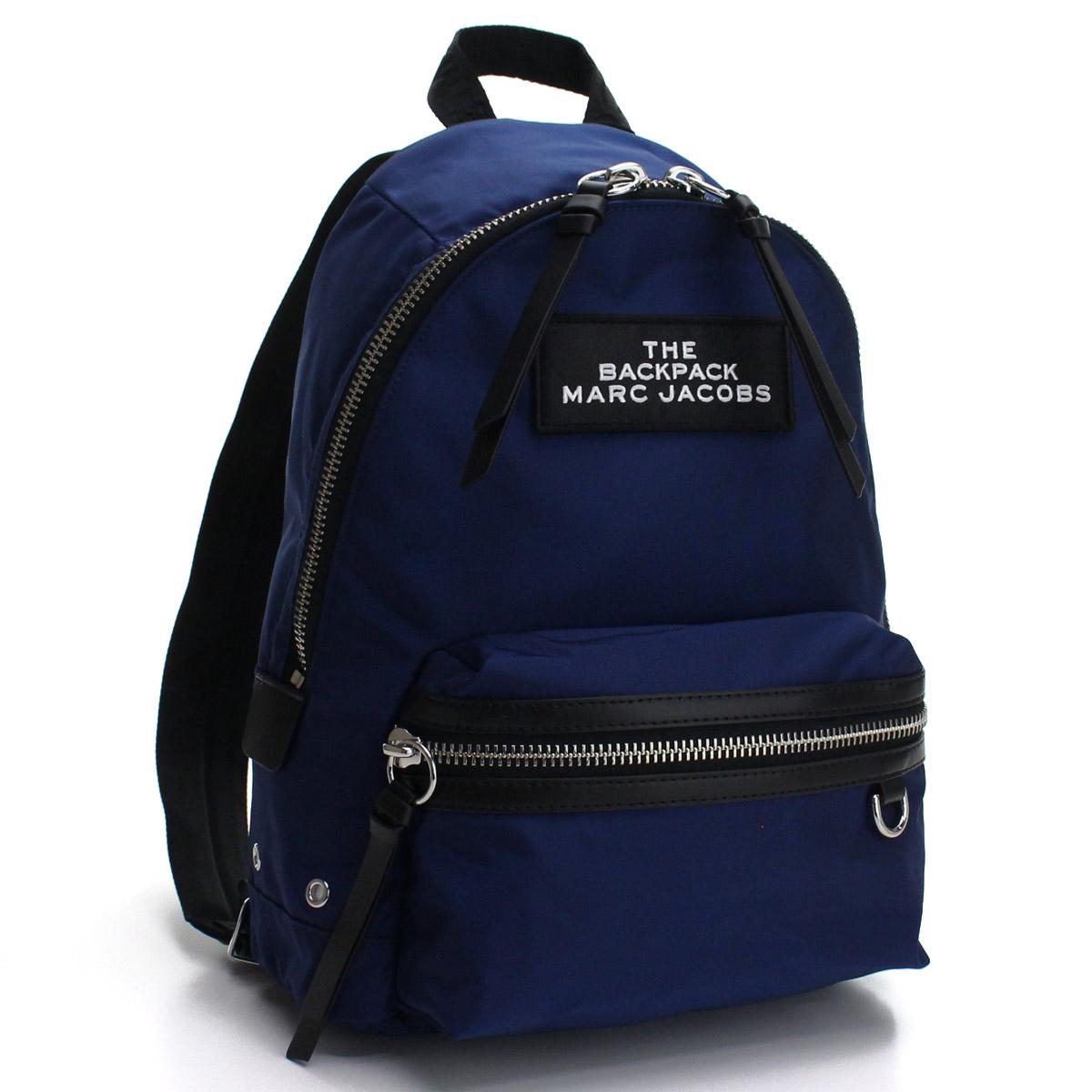 マーク ジェイコブス MARC JACOBS Medium Backpack リュック バックパック M0015415 412 NIGHT BLUE ブルー系 レディース