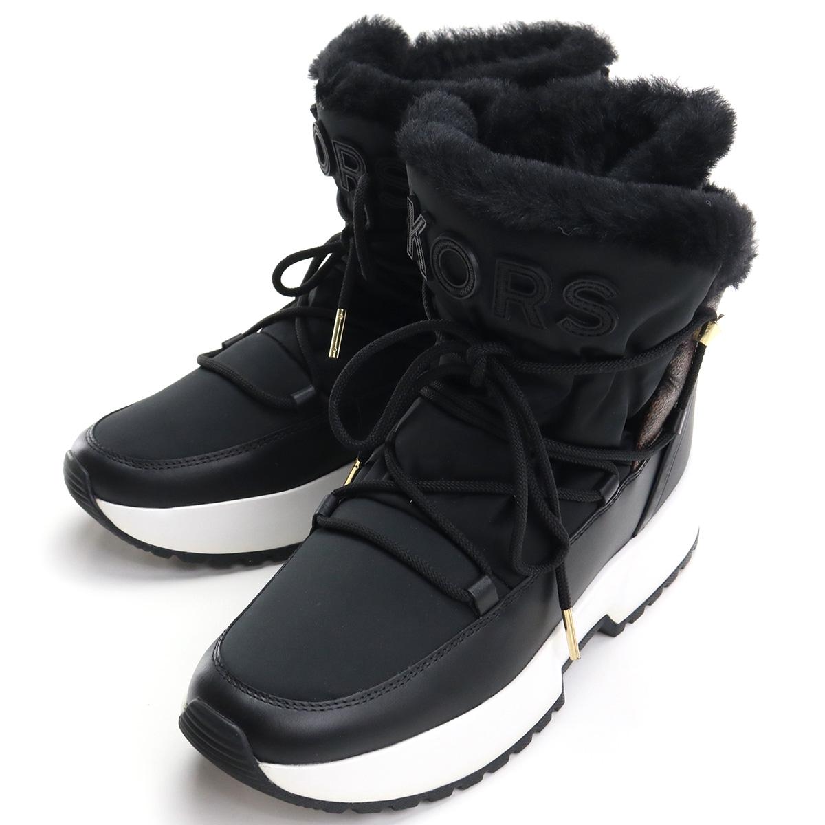 ※ 送料無料 Special Price マイケル メイルオーダー コース MICHAEL KORS レディースシューズ ブラウン系 BLK mks-01 ☆正規品新品未使用品 boots-01 40F9CSFE3D ブラック BROWN shoes-01 NYLON
