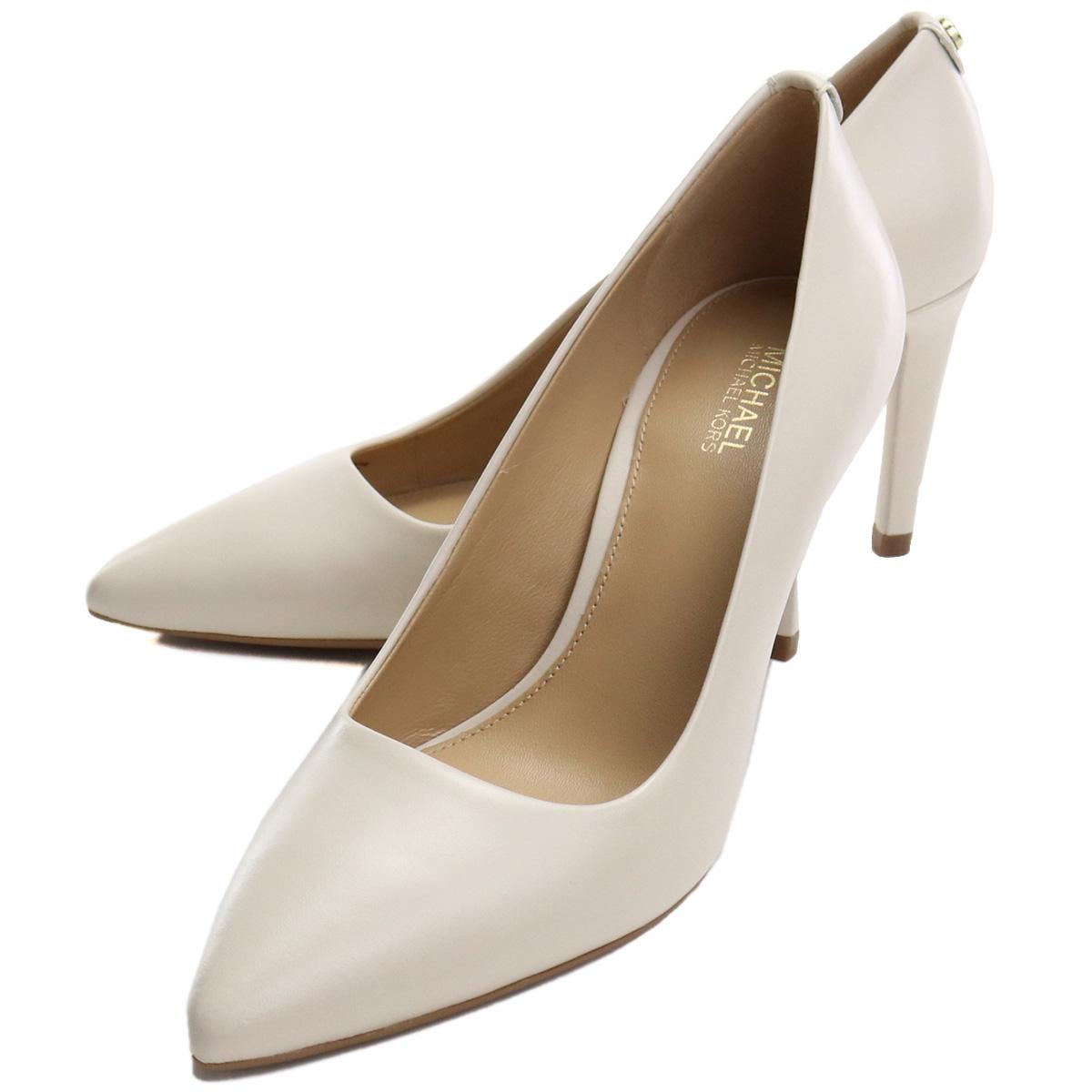 ※ 送料無料 Special Price マイケル 上品 コース MICHAEL 送料無料新品 KORS ホワイト系 mks-01 shoes-01 パンプス LEATHER 40S8DOMP2L CREAM
