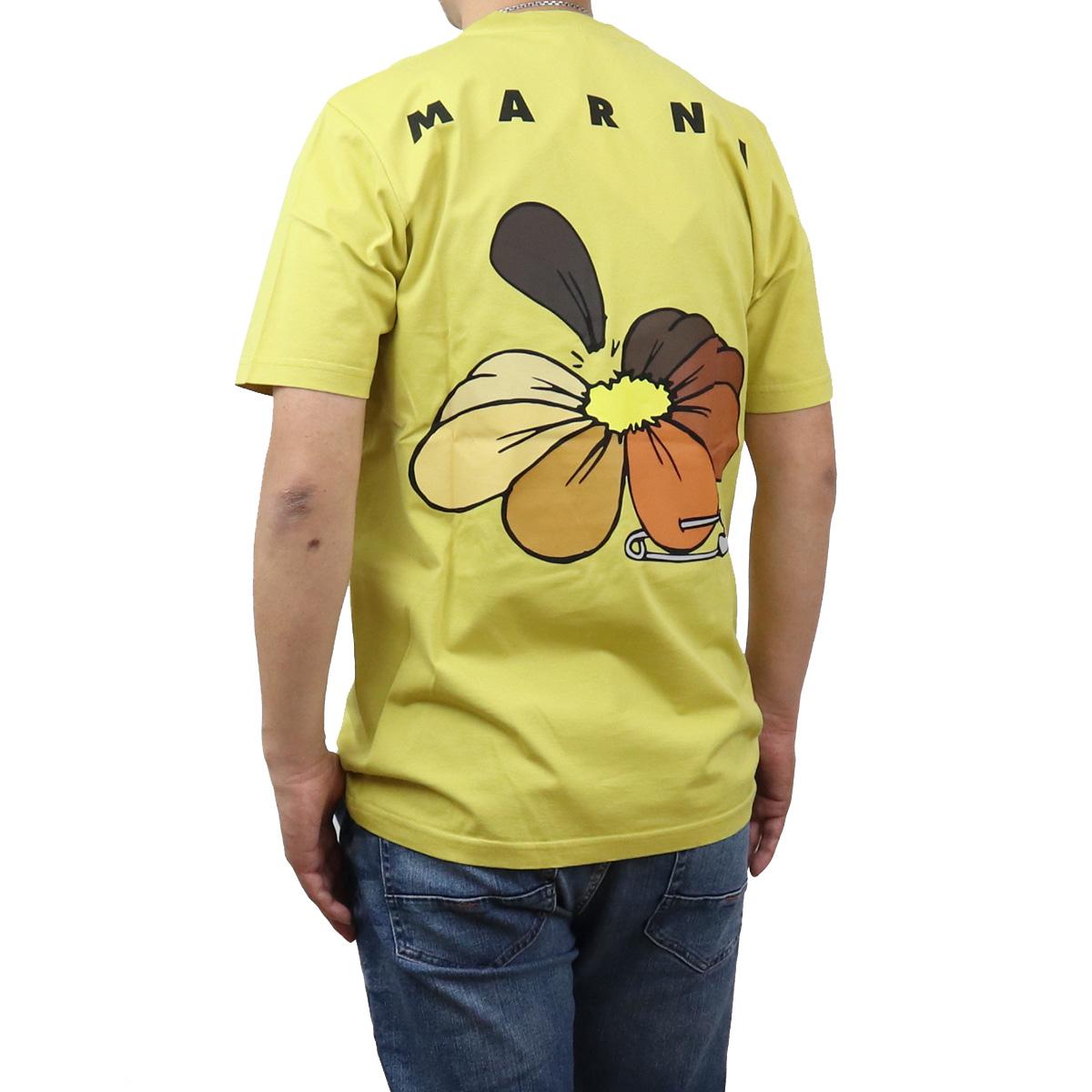 ※ 送料無料 数量限定 ラッピング無料 マルニ MARNI メンズ-Tシャツ HUMU0205P0 好評受付中 メンズ colo-01 ts-01 apparel-01 00V42 S23727 bos-22