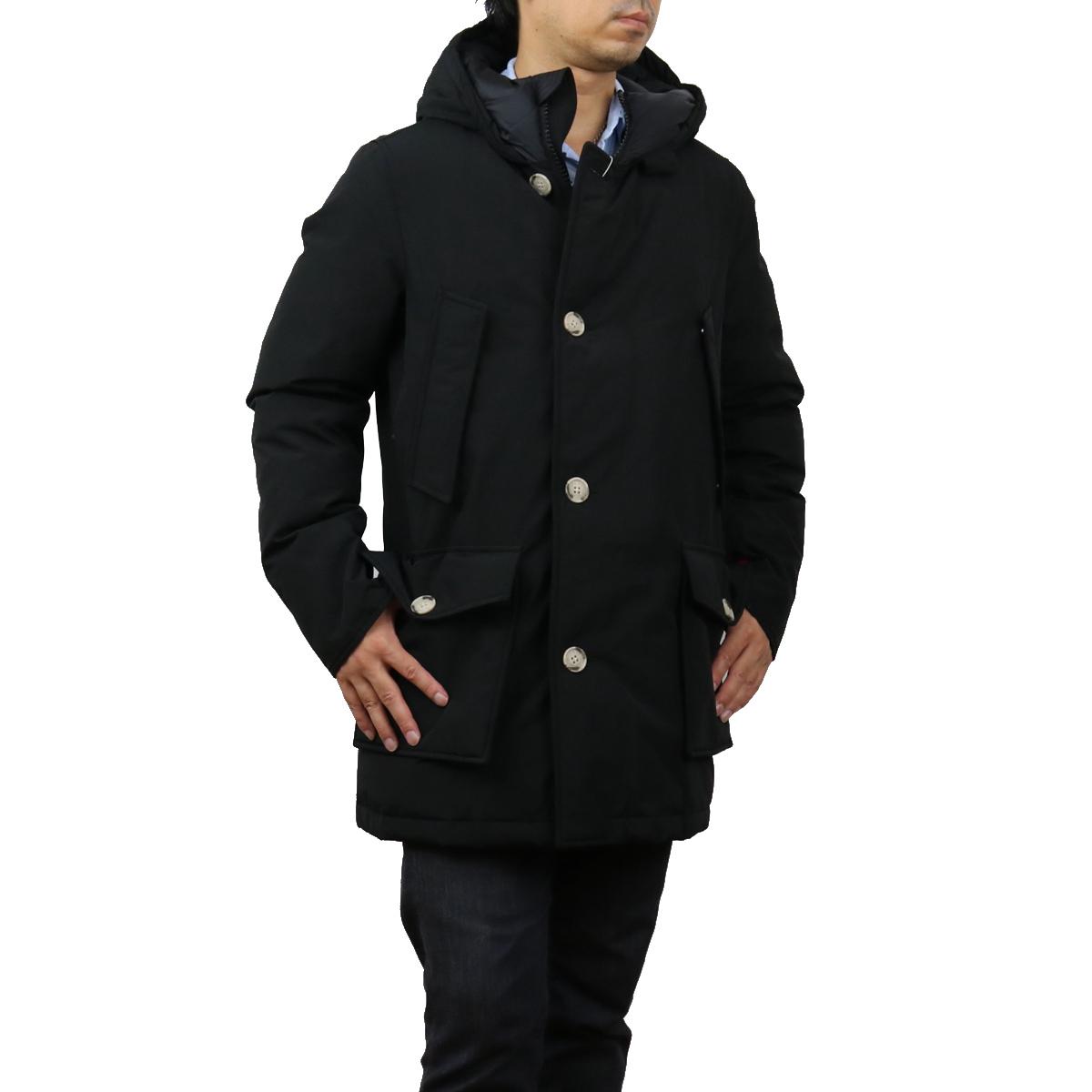 激安超特価 ※ 送料無料 ラッピング無料 ウールリッチ WOOLRICH メンズ コート bos-13 NBL UT0108 美品 WOOU0271 ブラック outer-01