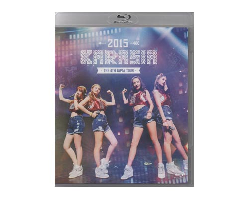 "KARA THE 4th JAPAN TOUR 2015""KARASIA""(初回限定盤)/Blu-ray Disc/UPXH-29011【中古】"