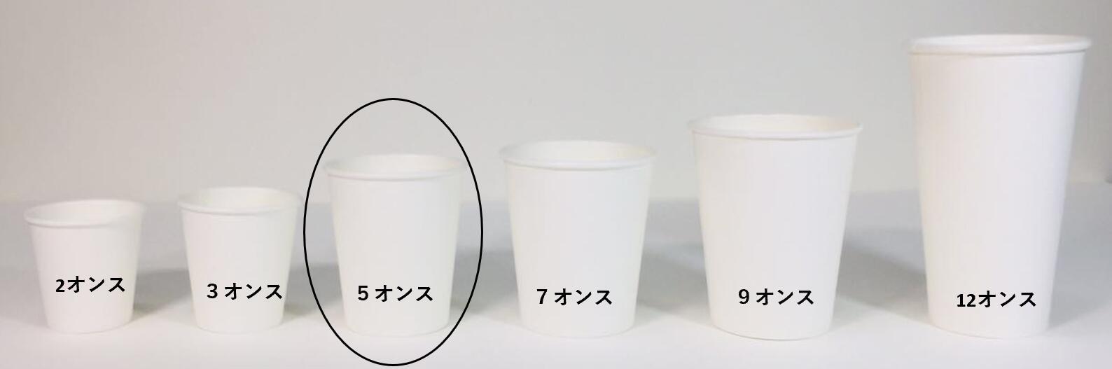 送料無料 北海道 沖縄除く 50x2列 祝開店大放出セール開催中 100個x30袋 返品不可 3000個 紙コップ5オンス3000個