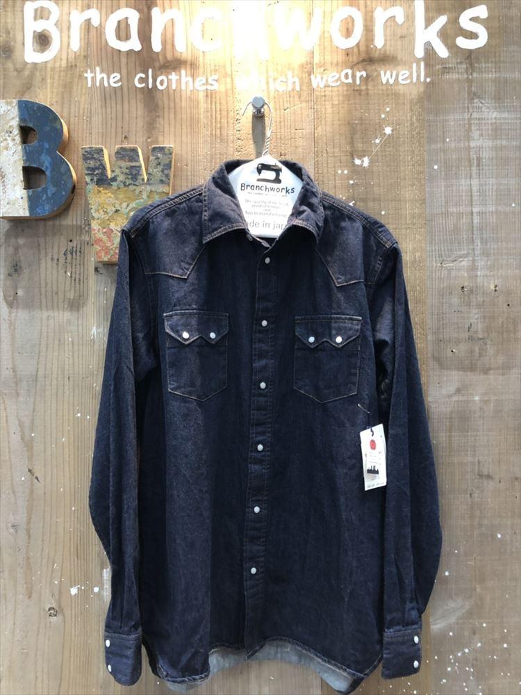 8Oz DENIM SHIRTS Branch Works ブランチワークス 日本製 岡山デニム シャツ