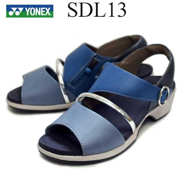 パワークッションYONEX ヨネックスSDL13 ブルー3.5E軽量クッション性抜群【軽くて履きよいサンダル】