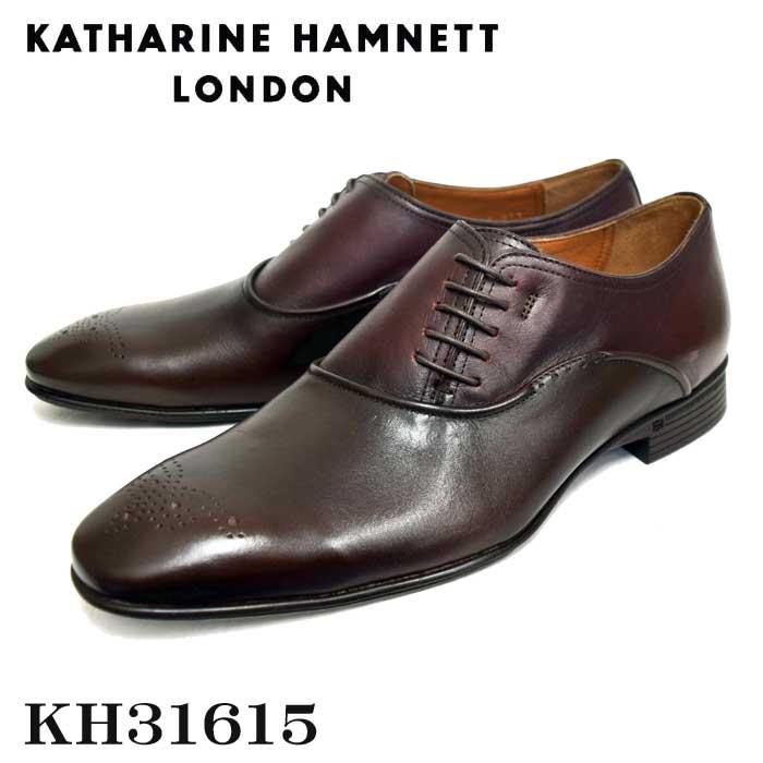 KATHARINE HAMNETT LONDONキャサリンハムネットメンズ・トラッドシューズ KH31615 DBR ダークブラウン【送料無料】
