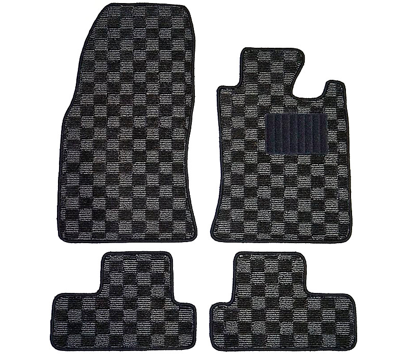 or with brown mini black camel cooper and floor orange rover mat pin mats red interior