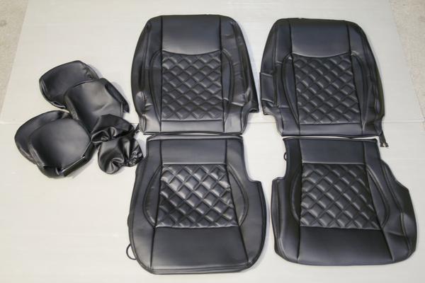 キャラバン GX NV350 ダイヤカットデザインシートカバー