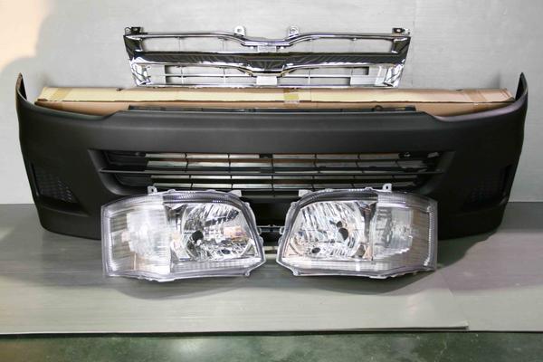 ハイエース 200系3型 標準用 DXフェイス 7点KIT