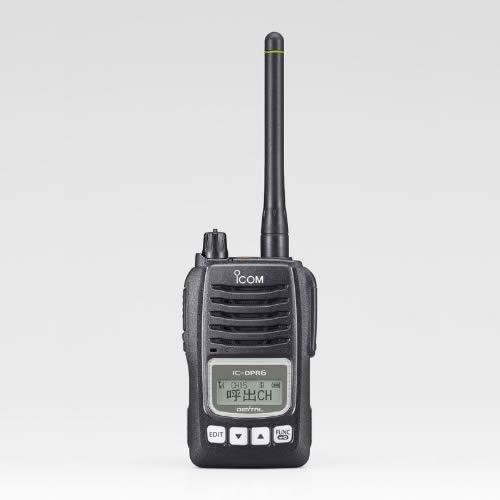 無線機 トランシーバー アイコム IC-DPR6(5Wデジタル登録局簡易無線機 資格不要 防水 インカム ICOM)