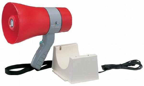 ユニペックス UNI-PEX TR-215CS トラメガ拡声器 防滴 6W メガホン サイレン付 充電式