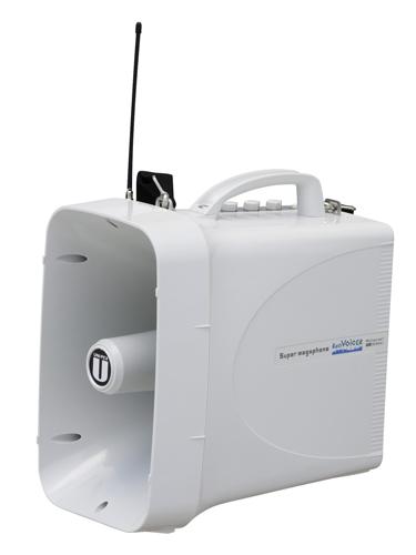 ユニペックス UNI-PEX TWB-300N 防滴スーパーワイヤレスメガホン トラメガ拡声器 ホイッスル付