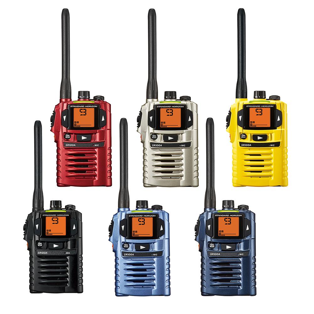 トランシーバー スタンダード 八重洲無線 SR100A ( 特定小電力トランシーバー インカム STANDARD YAESU )