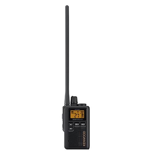無線機 トランシーバー ケンウッド デミトスミニ UBZ-M51L ロングアンテナ(特定小電力トランシーバー 単三電池1本 中継器対応 インカム KENWOOD DEMITOSS MINI)