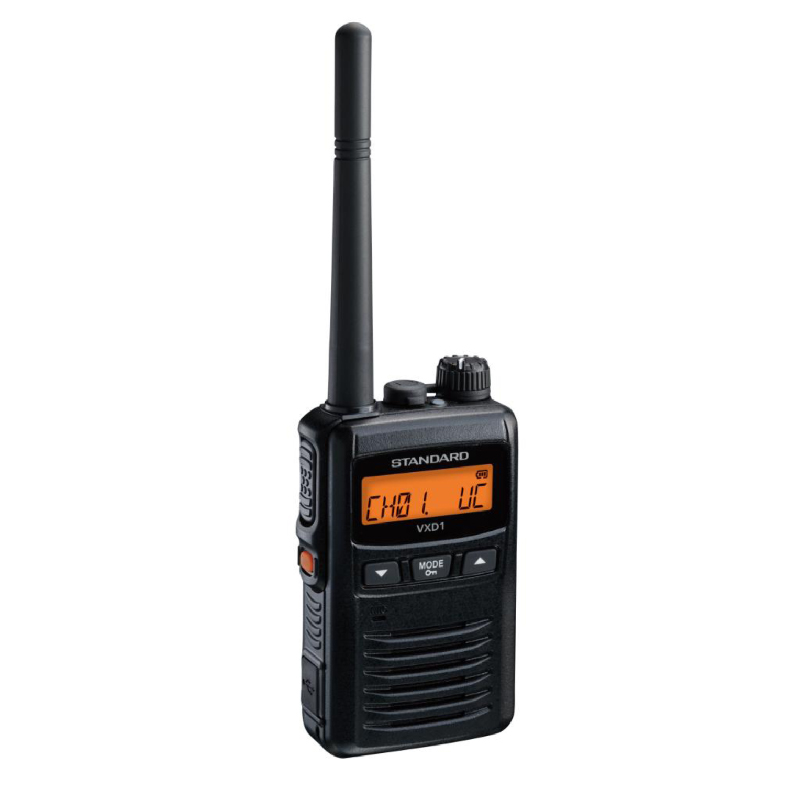 無線機 トランシーバー スタンダード 八重洲無線 VXD1( 1Wデジタル登録局簡易無線機 防水 インカム STANDARD YAESU)