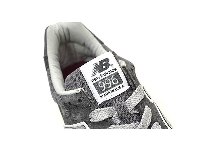新平衡新平衡 M996 CGY 灰灰色制造在美国男子