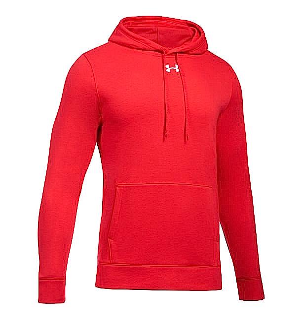 アンダーアーマー メンズ Under Armour UA Rival Fleece Team Hoodie パーカー フーディー Red / White