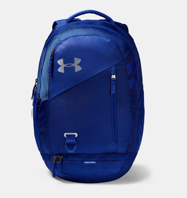 アンダーアーマー メンズ Under Armour UA Hustle 4.0 Backpack バックパック Royal リュックサック