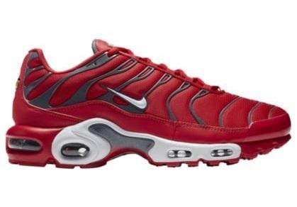 Nike Air Max Plus メンズ University Red/Pure Platinum/Dark Grey ナイキ スニーカー エアマックス プラス