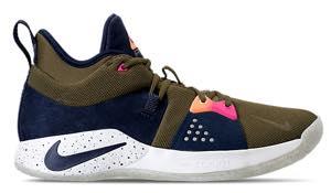 【メール便送料無料対応可】 ナイキ メンズ バスケットボール バッシュ シューズ Nike PG 2 メンズ バッシュ Olive ナイキ Canvas/Obsidian, 新上五島町:a0355b13 --- bibliahebraica.com.br