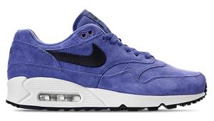 ナイキ メンズ エアマックス90/1 Nike Air Max 90/1 Casual Shoes スニーカー Purple Basalt/Anthracite/Summit White