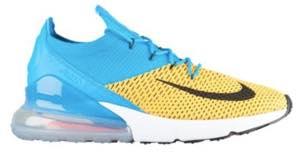 ナイキ メンズ スニーカー Nike Air Max 270 Flyknit ランニングシューズ エアマックス Laser Orange/Black/Blue Orbit/Bright Crimson/Navy