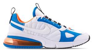 Nike men sneakers Nike Air Max 270 Futura Air Max 270 WhiteTotal OrangeBlue Heron