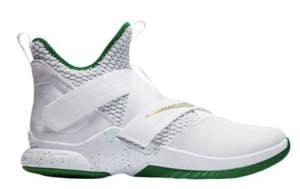 """ナイキ メンズ バスケットボール シューズ Nike LeBron Soldier XII 12 """"SVSM Home"""" レブロン ソルジャー White/Multi"""