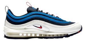 ナイキ メンズ スニーカー Nike Air Max '97 SE エアマックス 97 Obsidian/University Red/Sail/Blue Nebula
